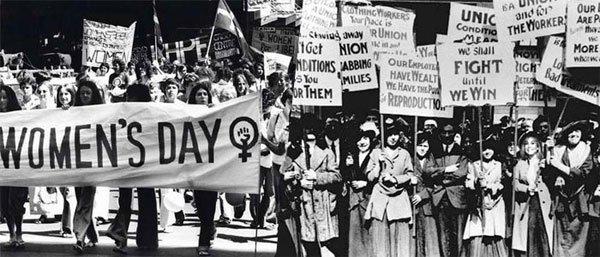 Cuộc biểu tình của đòi quyền lợi của phụ nữ trên thế giới